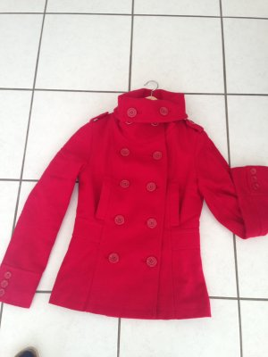 H&M Divided Giacca di lana rosso
