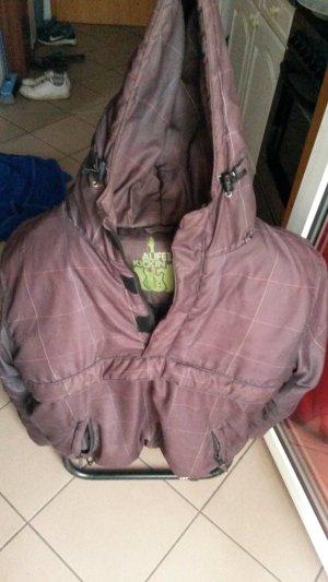 Alife & Kickin Winter Jacket dark brown