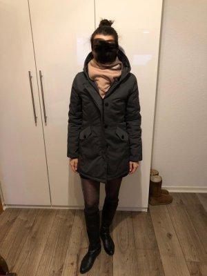 Attentif Veste d'hiver gris anthracite