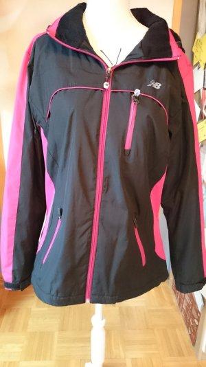 Winterjacke Gr. M schwarz pink