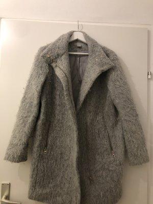 winterjacke grau