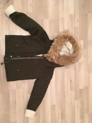 Winterjacke in Khaki von Sheinside
