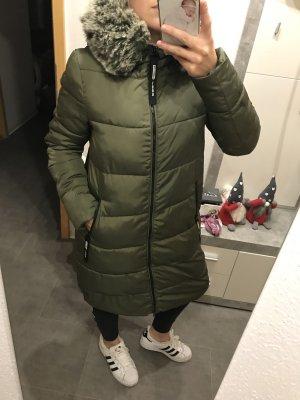 Manteau d'hiver kaki