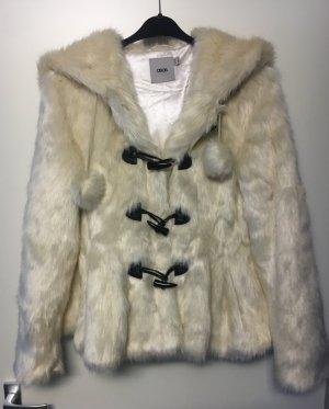 Winterjacke Jacke Wollweiß 38