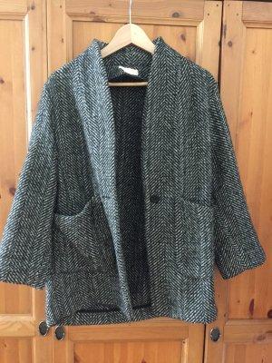 H&M Oversized Jacket dark grey