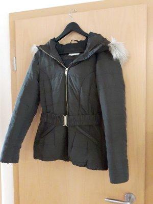 winterjacke Khaki Größe 36 von H&M