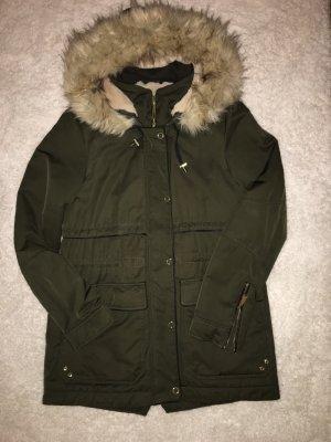 Winterjacke Khaki Zara