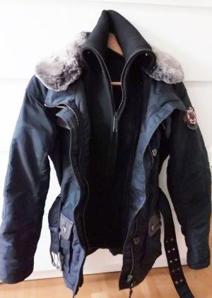 Winterjacke Khujo dunkelblau