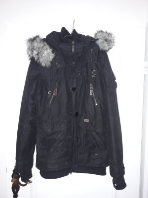 Winterjacke Kuhjo schwarz M