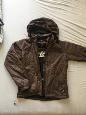 Icepeak Windbreaker dark brown-brown
