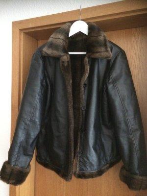 Winter Jacket black-black brown