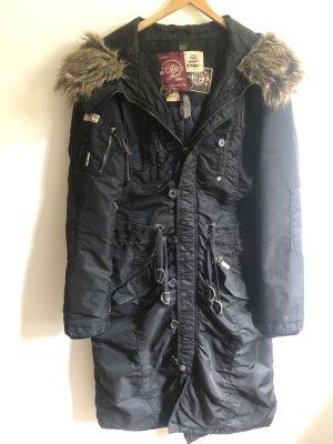 Kuhjo Winter Coat black-light brown