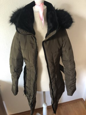 Winterjacke Mantel Fell S khaki