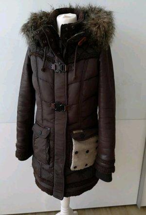 Winterjacke Mantel Khujo Gr. M dunkelbraun