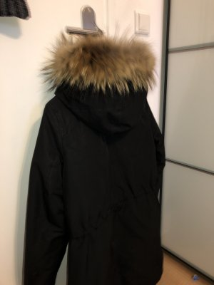 Blonde No. 8 Giacca con cappuccio nero