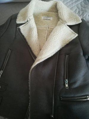 Glamorous Veste d'hiver argenté