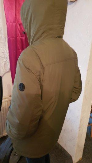 Winterjacke mit Kapuze von S Oliver Gr L Thermojacke Khakifarben 1 mal getragen, Top Zustand
