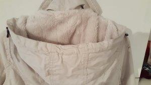 Winterjacke mit Teddyfell von H&M, Gr 36
