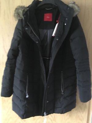 s.Oliver Quilted Jacket black