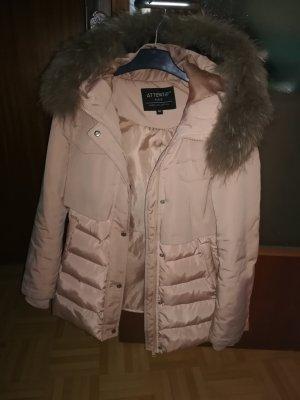 Attentif Veste d'hiver or rose-rose clair polyester