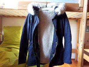 Pimkie Winter Jacket dark blue