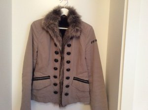 Airfield Winter Jacket grey brown cotton