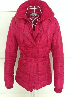 Winterjacke Pink Reißverschluss