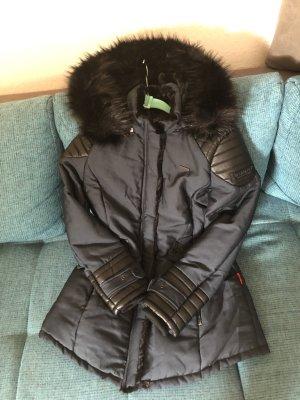100% Fashion Winter Jacket dark blue