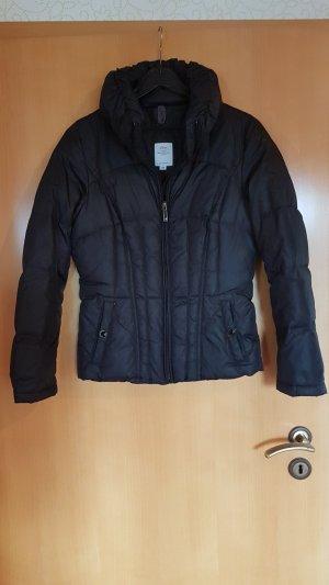 Winterjacke schwarz gr 34 von S.Oliver
