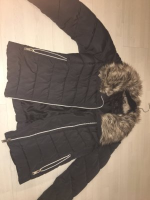 Winterjacke schwarz in 38