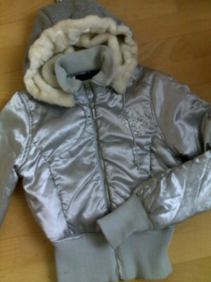 Tally Weijl Chaqueta bomber color plata