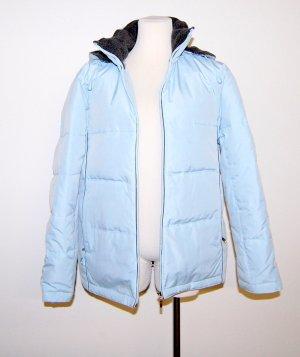 H.Moser Veste d'hiver bleu azur tissu mixte