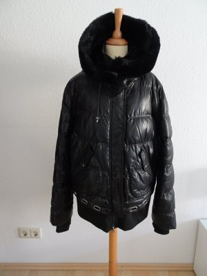 Winterjacke/Steppjacke, schwarz (Wellensteyn)