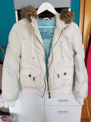 Winterjacke Übergangsjacke Jacke Steppjacke edc Weiß