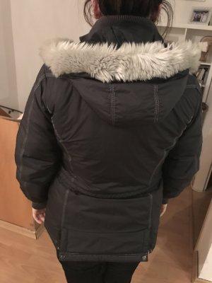 Winterjacke von Adidas, grau, Grösse 36
