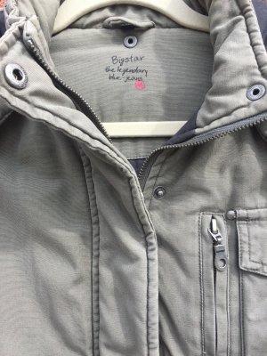 Big Star Winter Jacket grey brown
