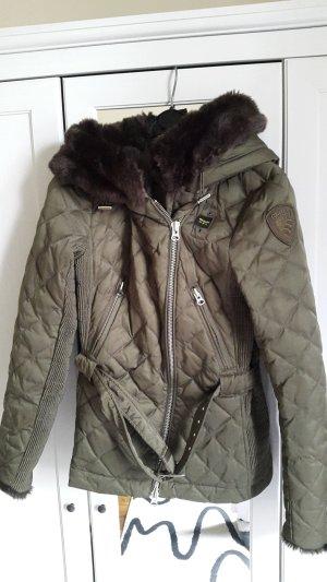 Blauer Winter Jacket multicolored