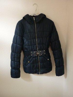 Winterjacke von H&M, dunkelblau, Größe 36