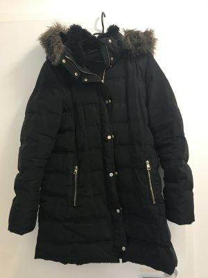 Winterjacke von H&M mit Fellkragen L