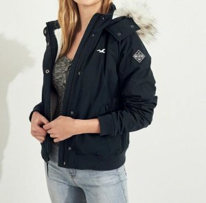 Hollister Giacca bomber blu scuro