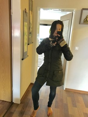 Khujo Giacca invernale marrone-nero-verde oliva