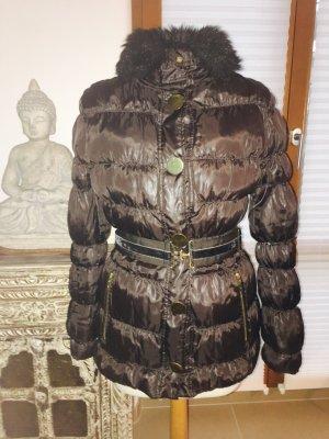 Winterjacke von MANGO braun