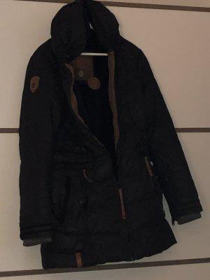 Winterjacke von Naketano in schwarz