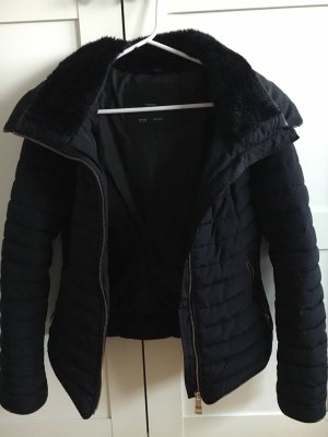 Zara Veste bleu foncé-noir