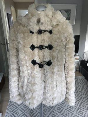 Vero Moda Giacca di pelliccia bianco sporco-crema
