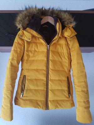 Zara Basic Veste d'hiver orange doré