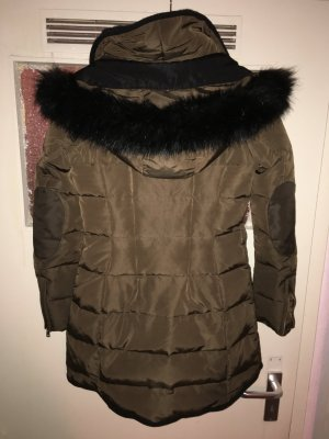 Winterjacke-Zara Daunen Mantel - 70% Daunen 30% Federn