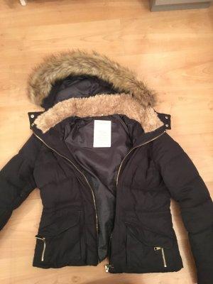 Winterjacke Zara dunkelblau