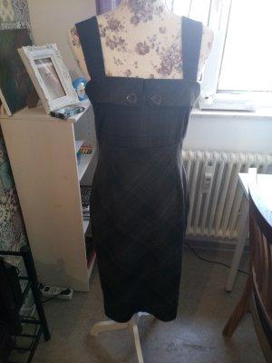 Orsay Vestido de lana marrón oscuro-marrón-negro