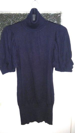 Avanti Vestido de lana azul oscuro